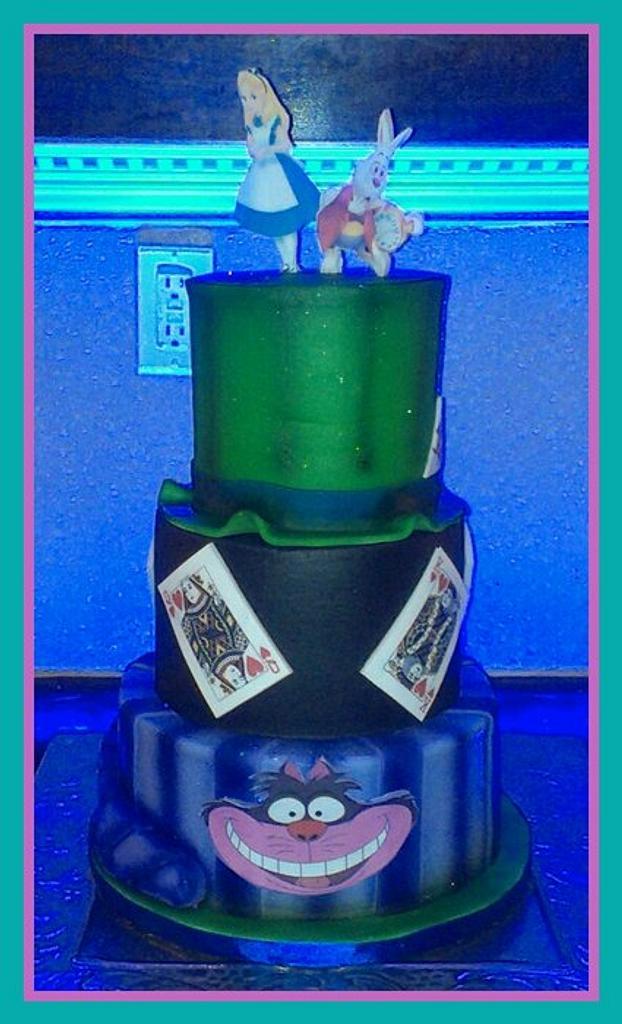 Alice in Wonderland by Sonia Serrano