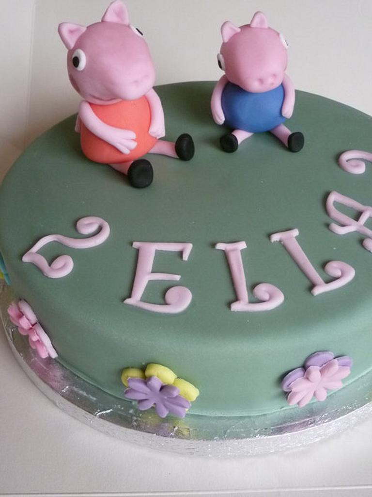 Peppa Pig by suzannahscakes