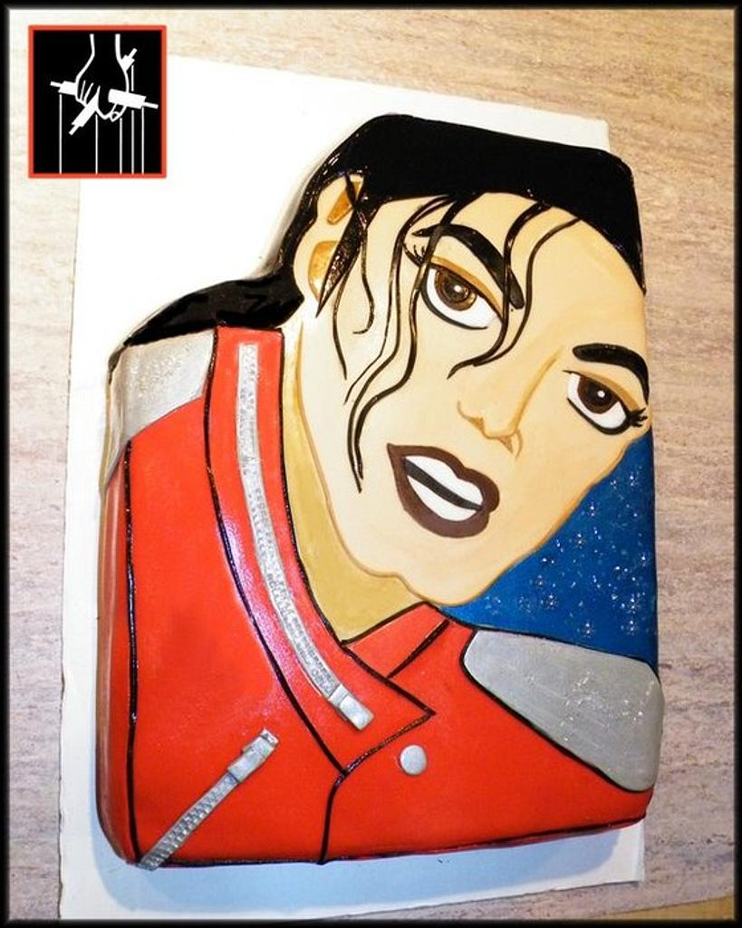 THE MICHAEL JACKSON CAKE by TheCakeDon