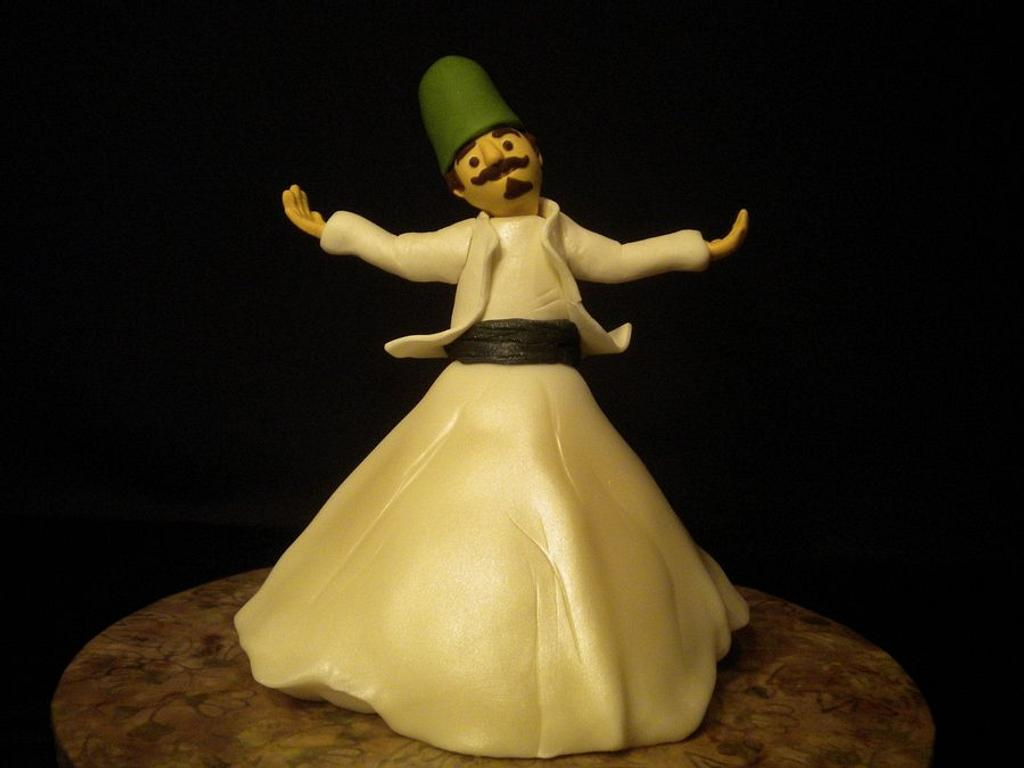 Whirling Dirvesh Cake by Janan