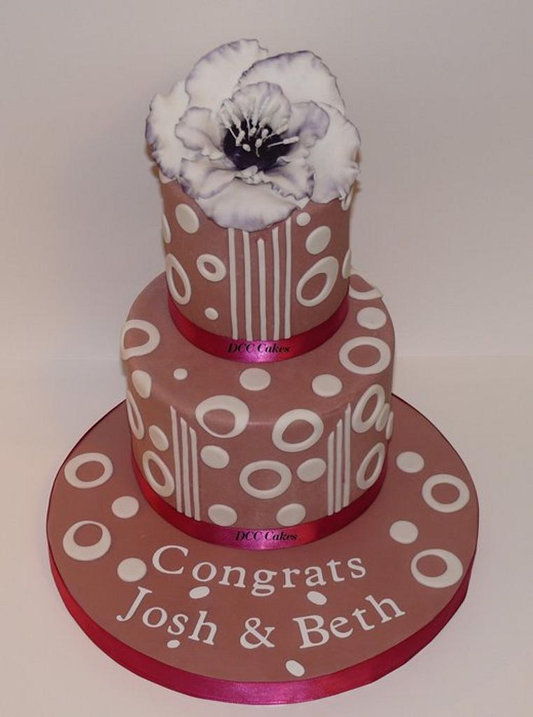 Engaged by DCC Cakes, Cupcakes & More...