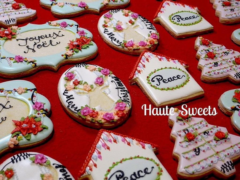 2013 Christmas cookies  by Hiromi Greer