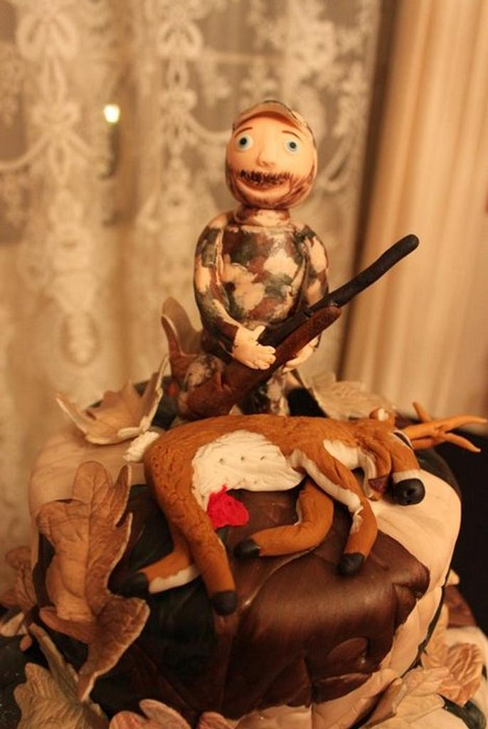 Hunting/Camo Cake by Nancy's Cakes and Beyond