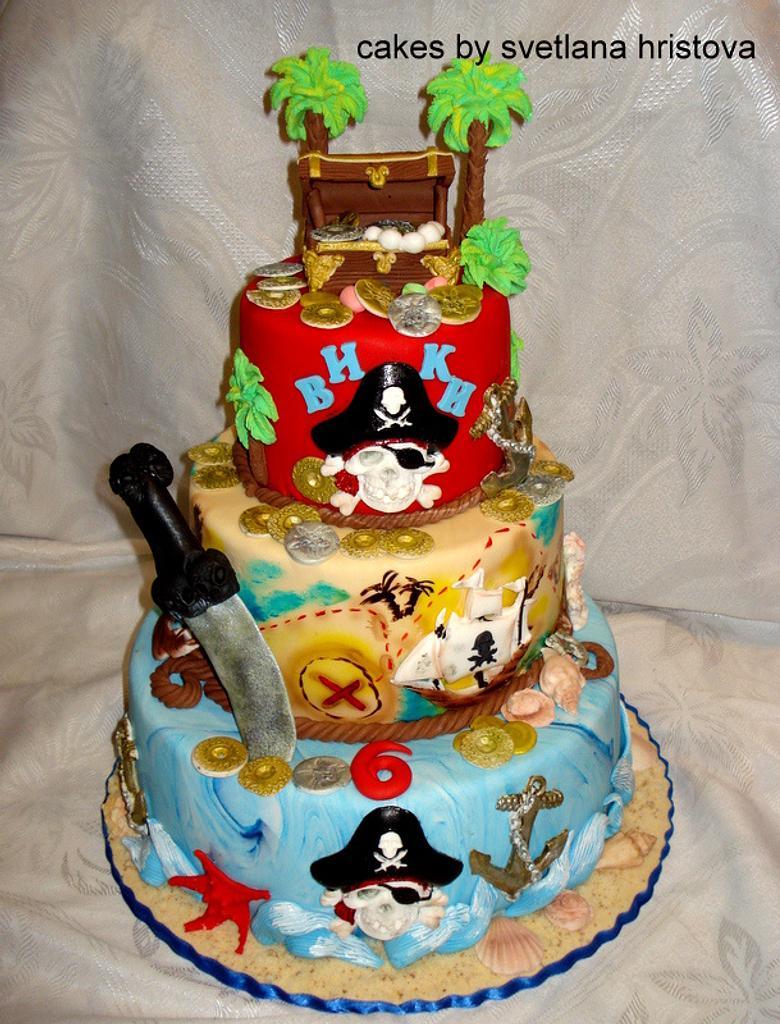 Pirate cake  by Svetlana Hristova