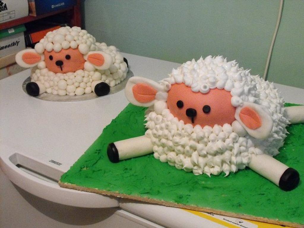 My little lamb by Nelly Konradi