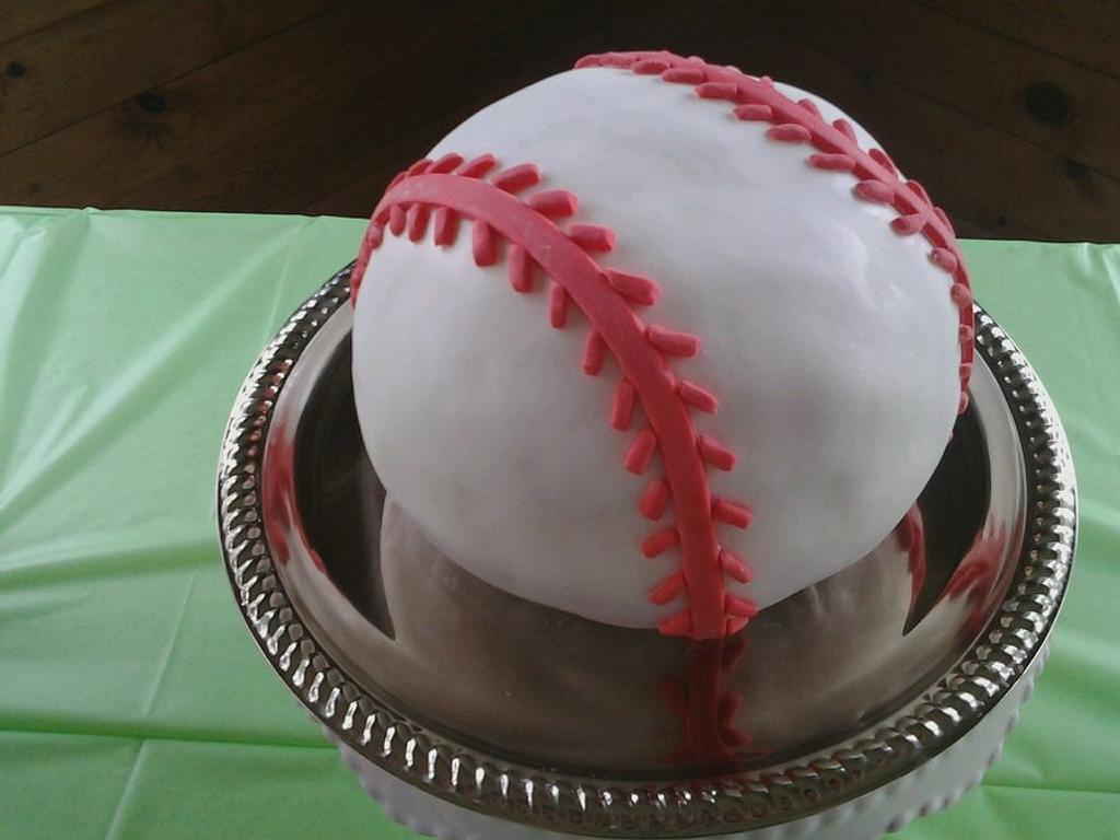 Baseball Cake by Heather