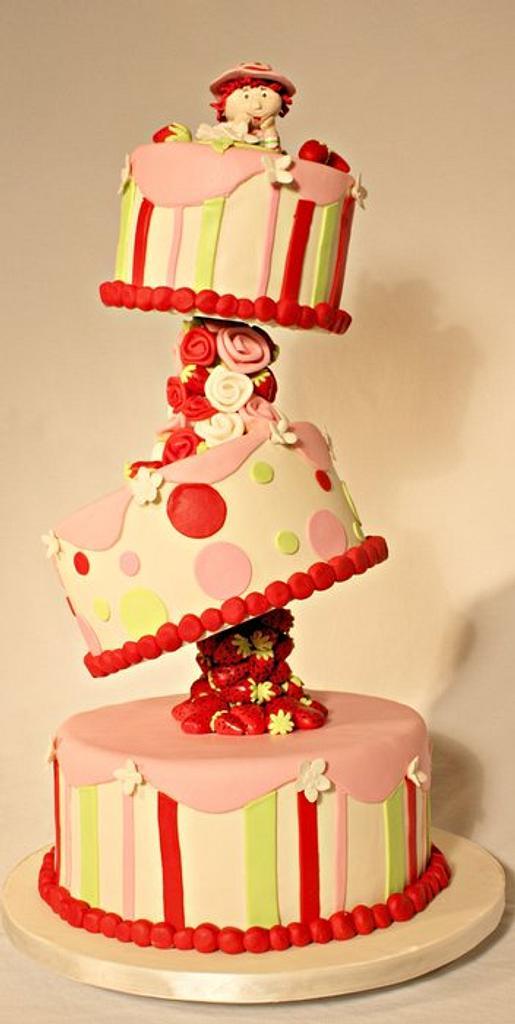Strawberry Shortcake by SweetEatsCakes