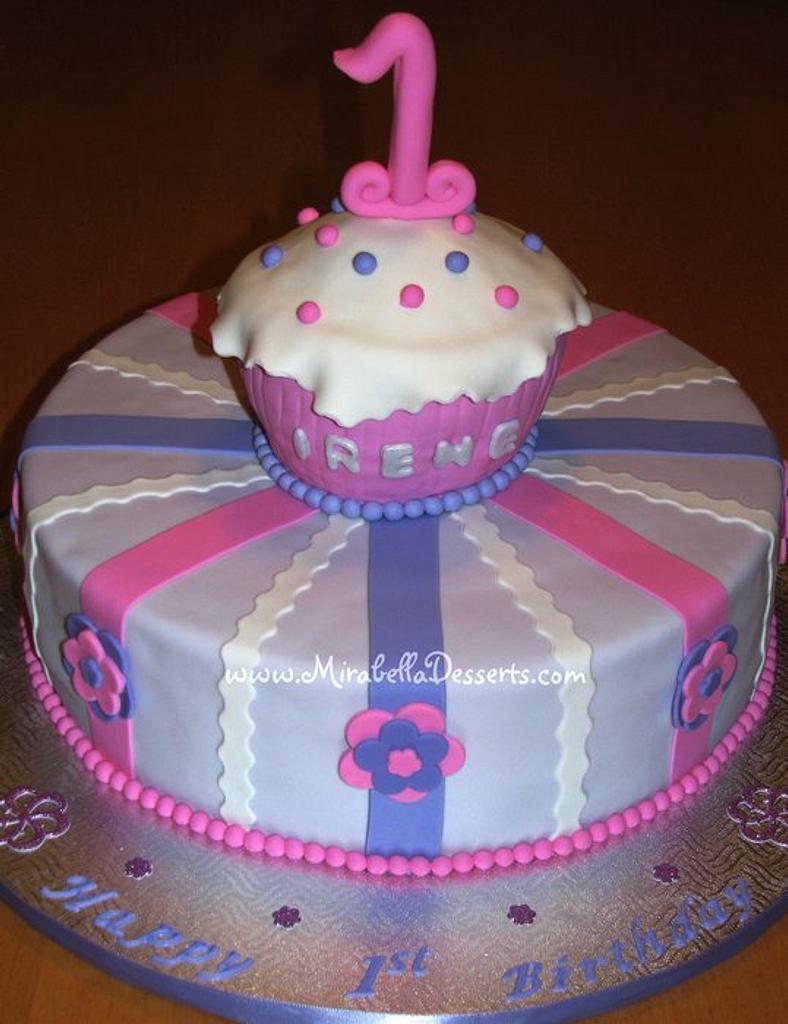 Cupcake Cake by Mira - Mirabella Desserts