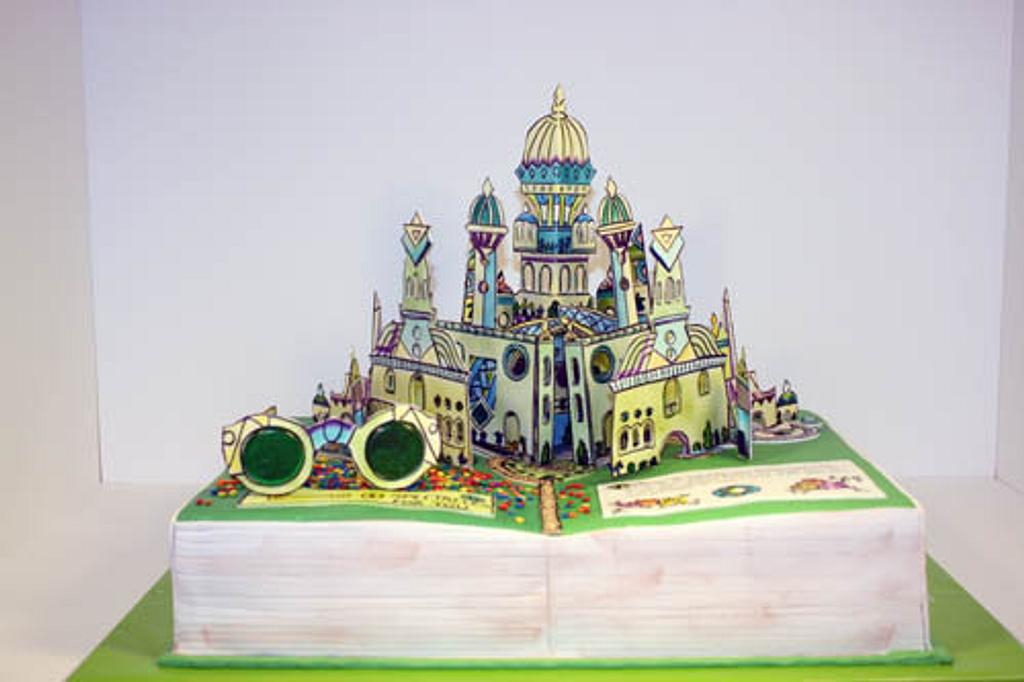 Wizard of Oz Pop-up Book (Showpiece) by Prima Cakes and Cookies - Jennifer