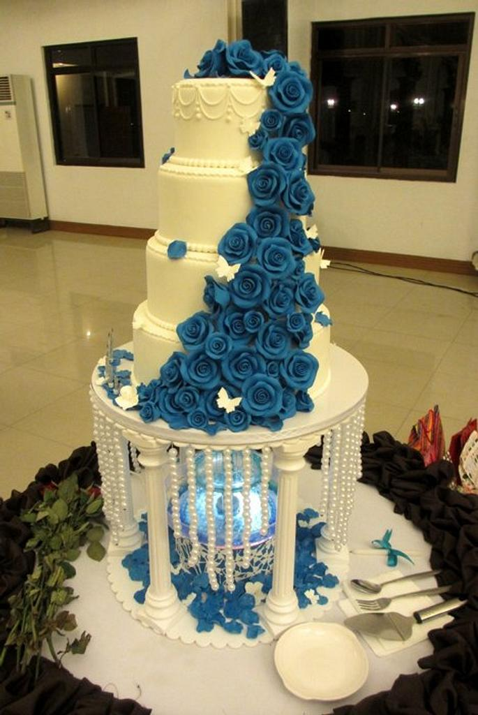 Blue Rose! by Roma Bautista