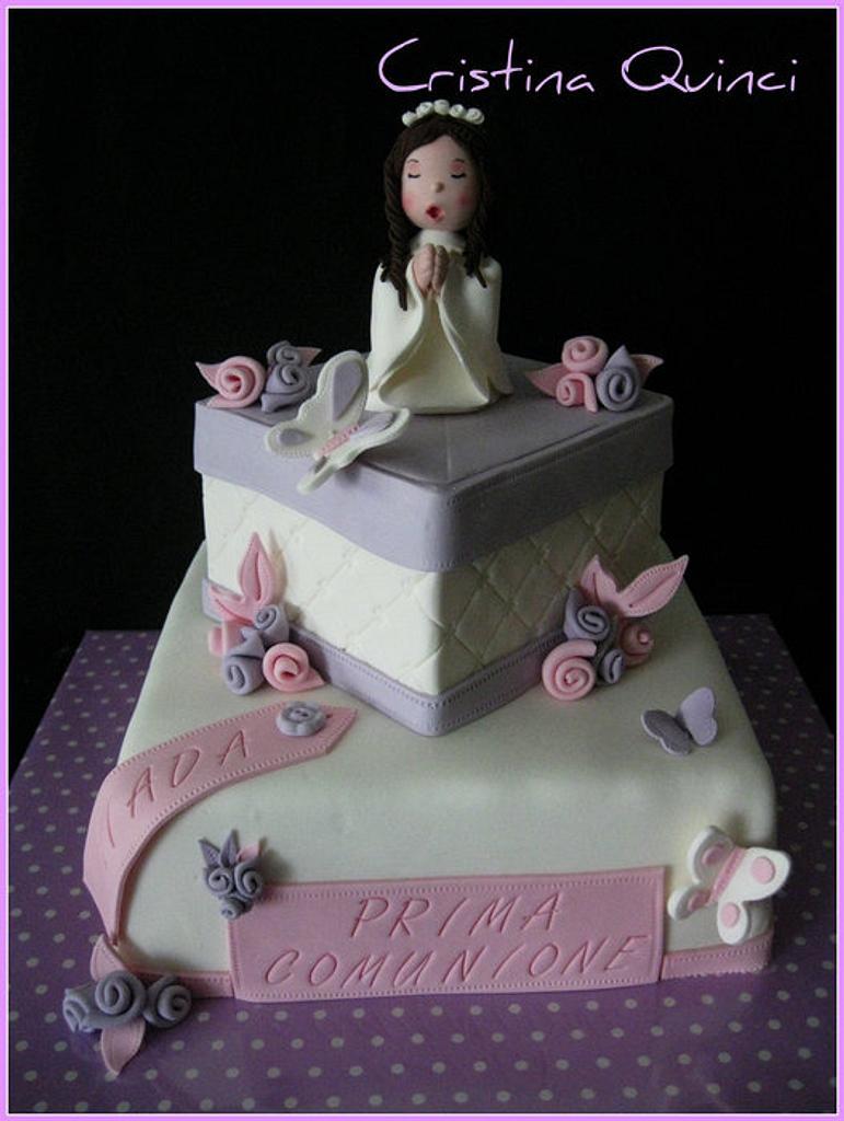 First Communion Cake by Cristina Quinci