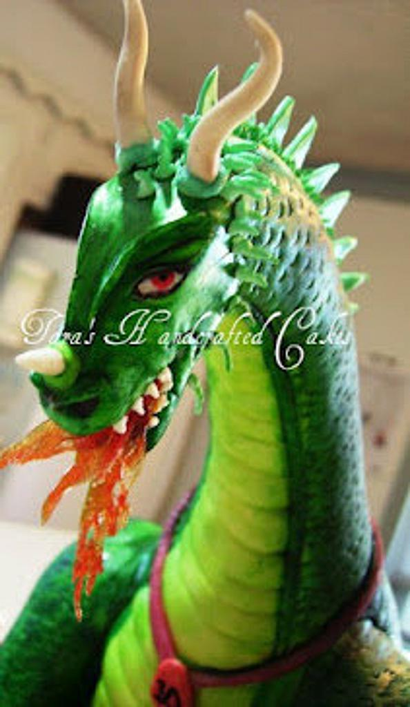 Dragon cake by Taras Handcrafted Cakes