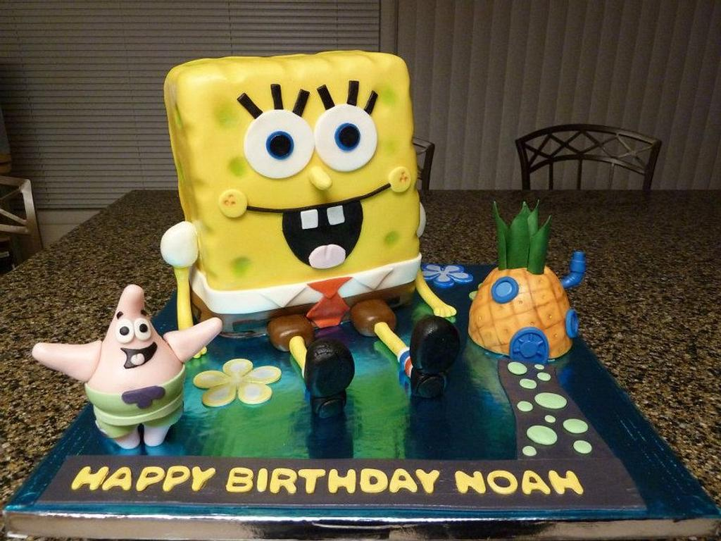 Sponge Bob Square Pants by JB