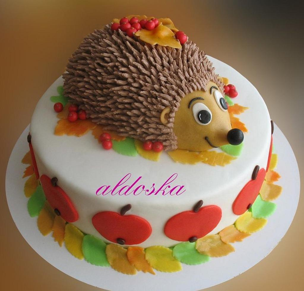 Little hedgehog by Alena