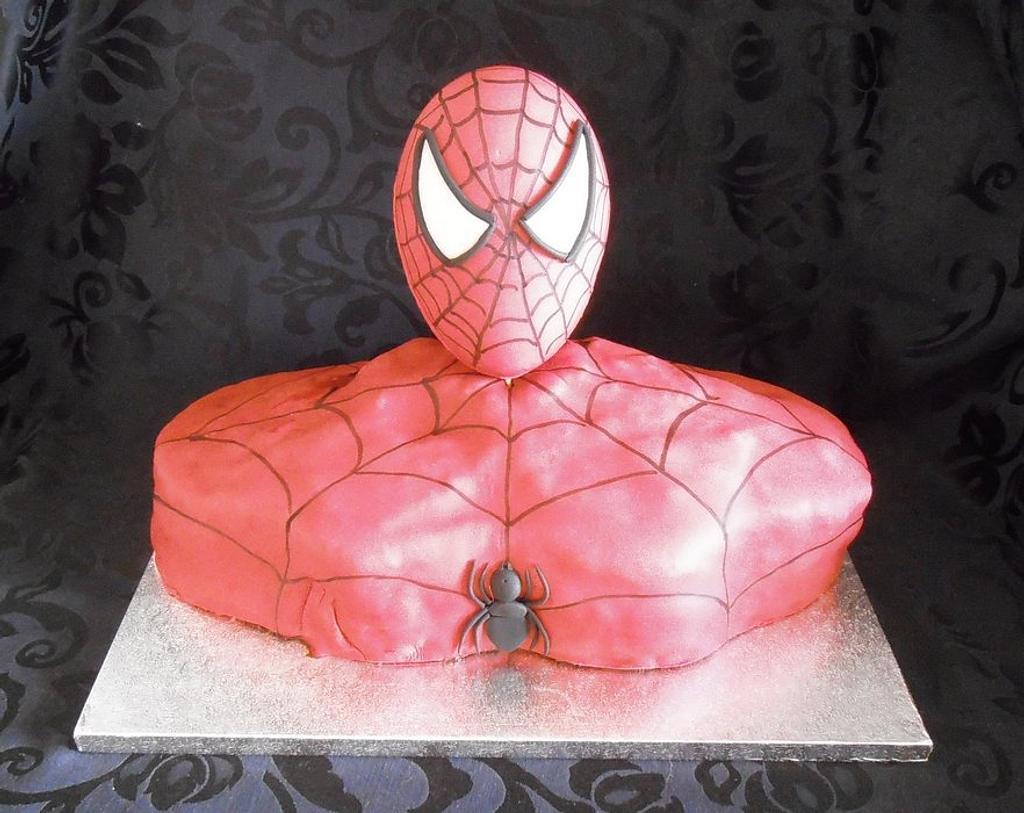 Spiderman cake by Le Cupcakes della Marina