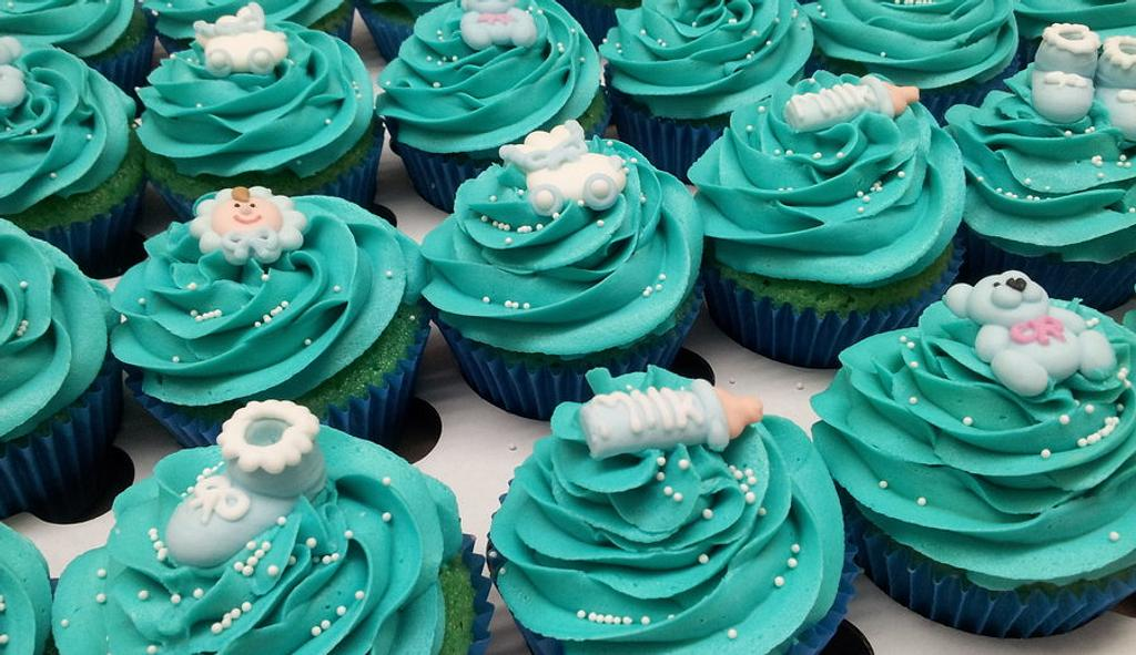 New baby Cupcakes by Sarah Poole