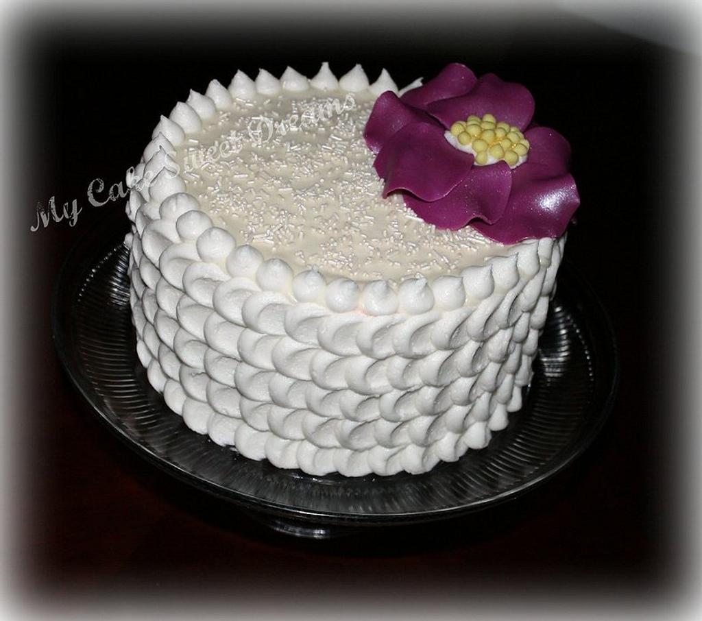 Petal Effect Cake  by My Cake Sweet Dreams