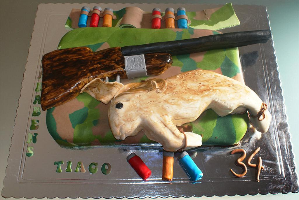 hunt cake by Lia Russo