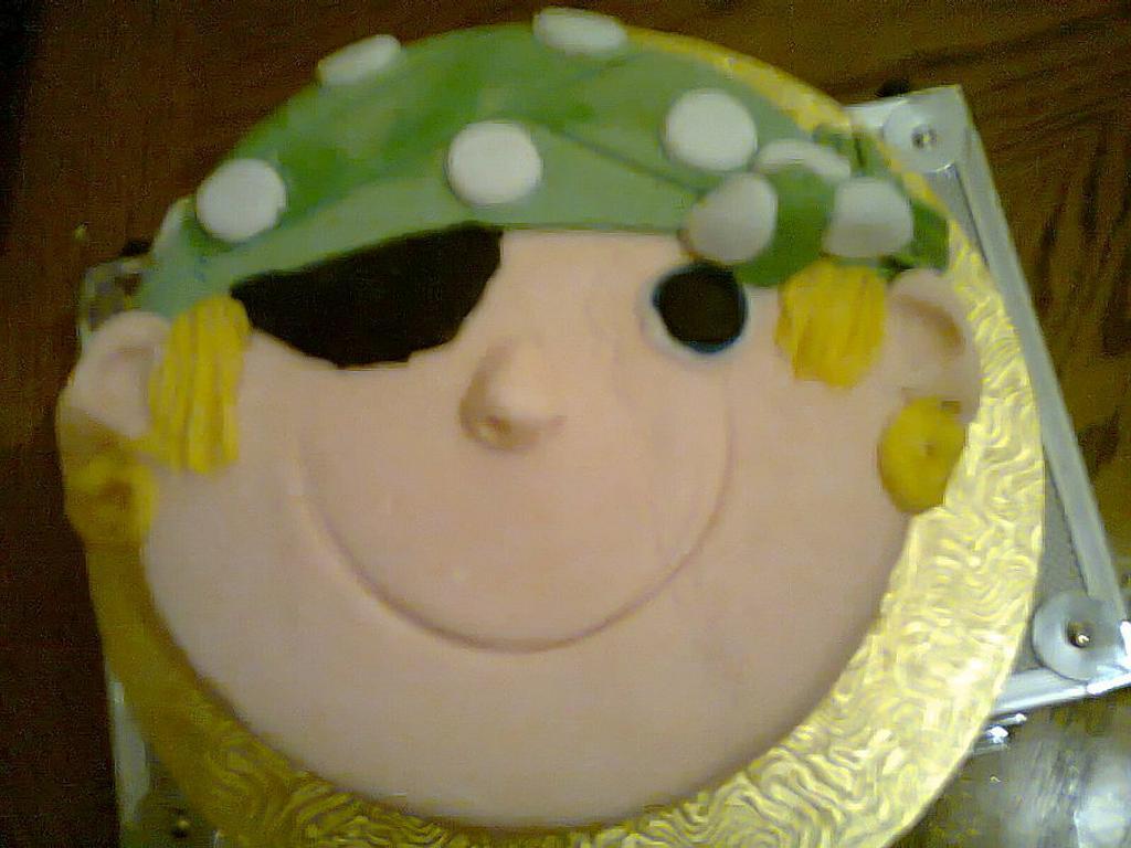 Pirate cake by Toni Lally