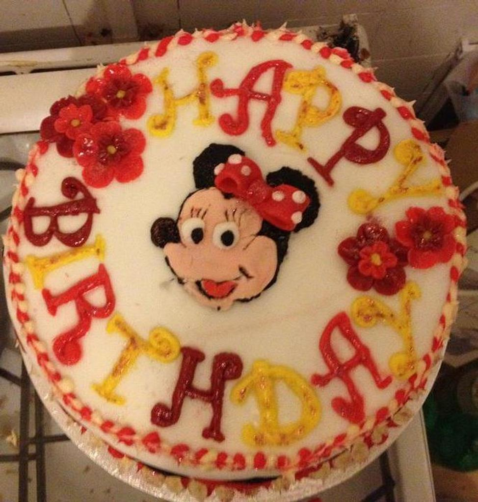 my first ever cake! my daughters 1st birthday cake last year by sumbi