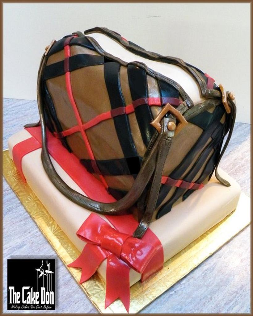 THE HAPPY BURBERRY BIRTHDAY CAKE by TheCakeDon
