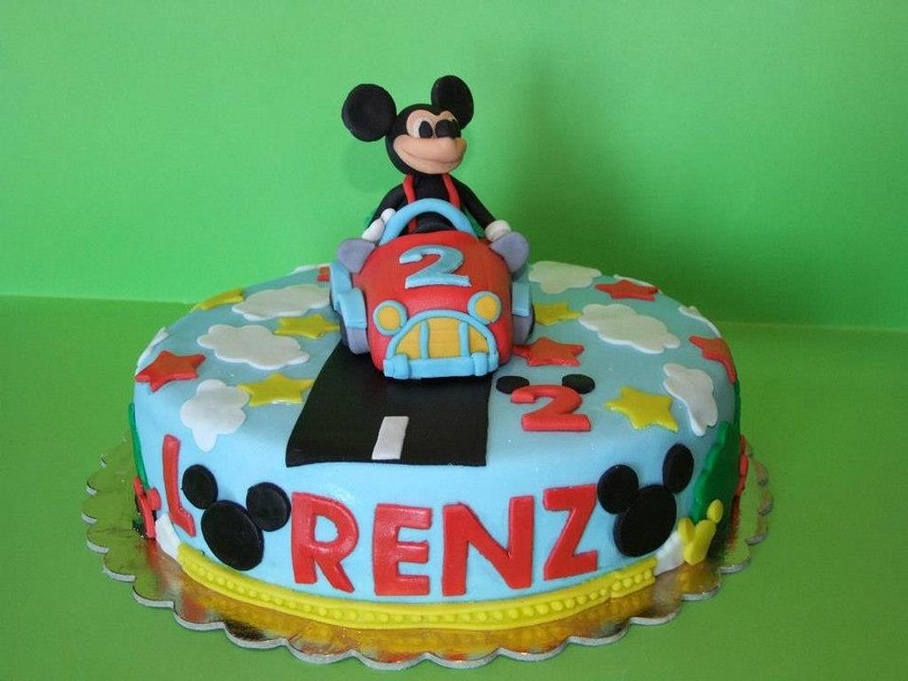 CAKE MICKEY MOUSE by Marilena