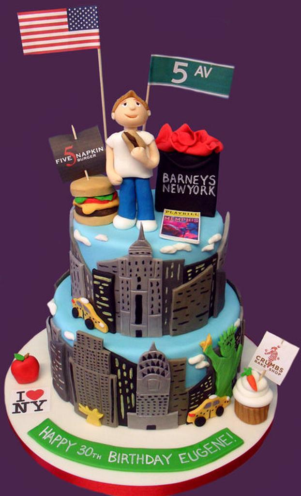 Eugene's NY Cake by Jennifer