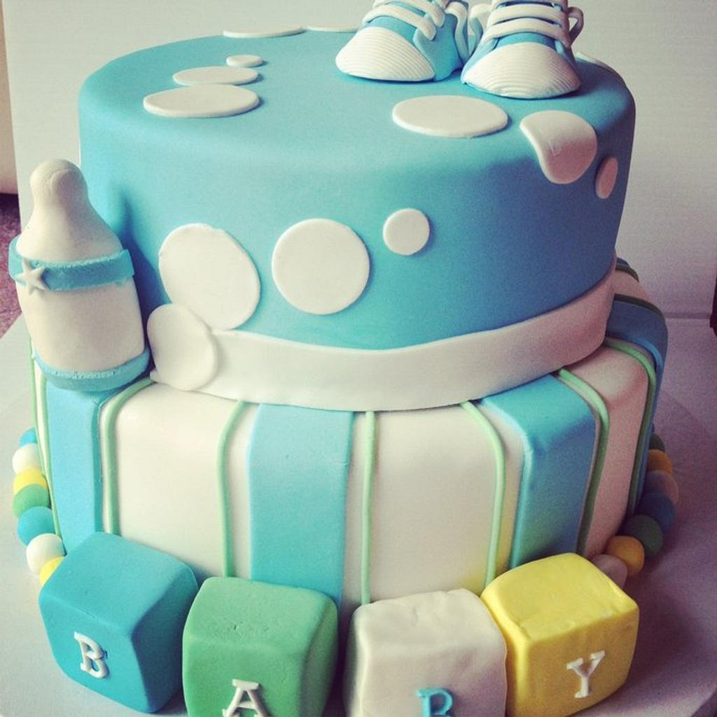 Baby Shower Cake by Esther Williams