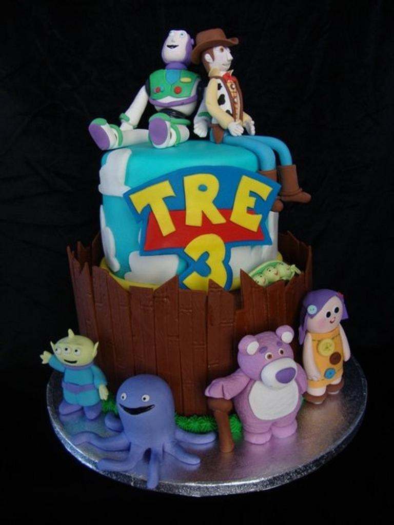Toy Story Cake by SongbirdSweets