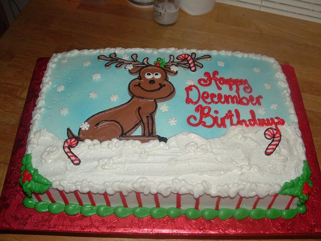 Christmas Reindeer by Jennifer C.
