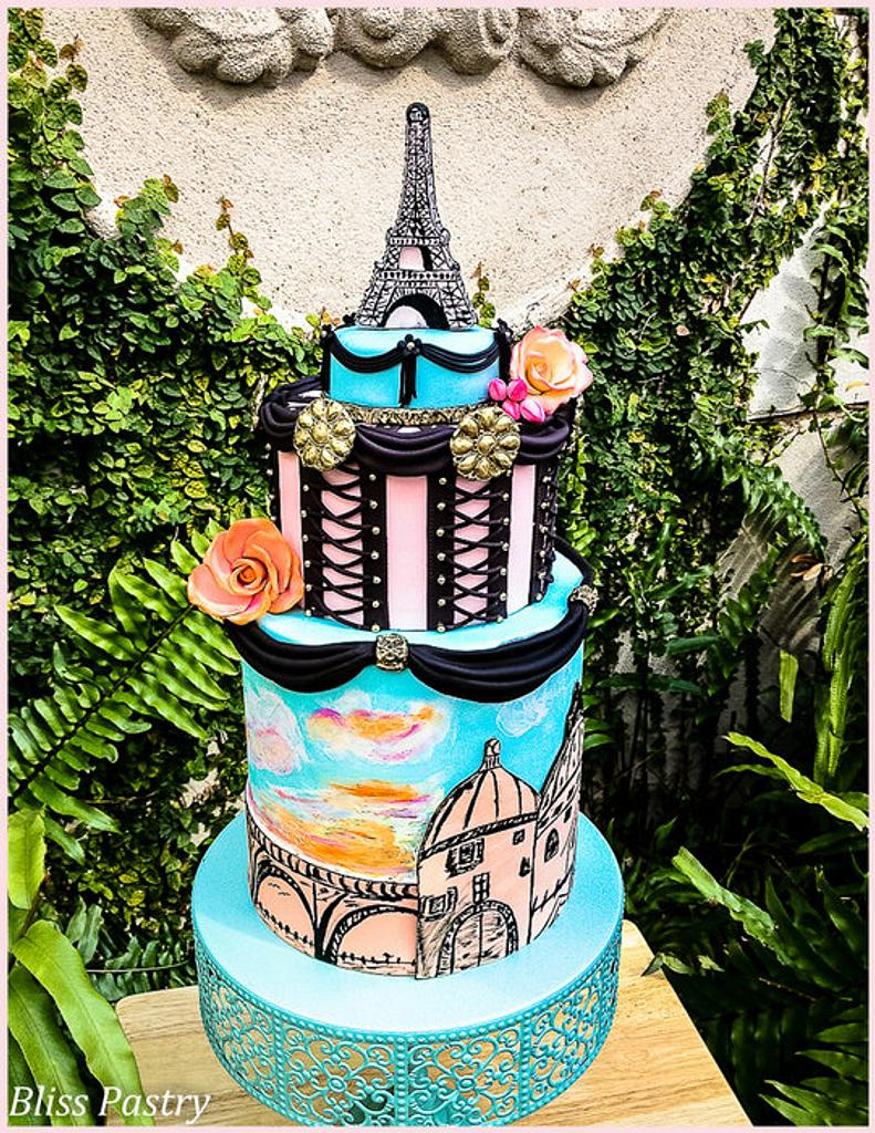 Sunrise in Paris by Bliss Pastry