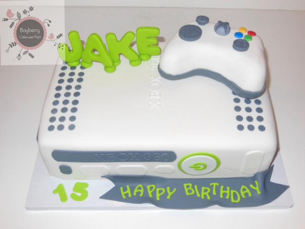 Xbox cake by Cathy Moilan