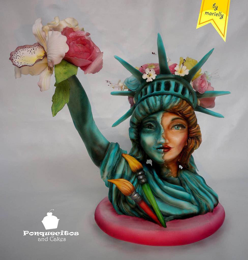 Estatua Viva (Primavera con Arte Collaboration) by Marielly Parra