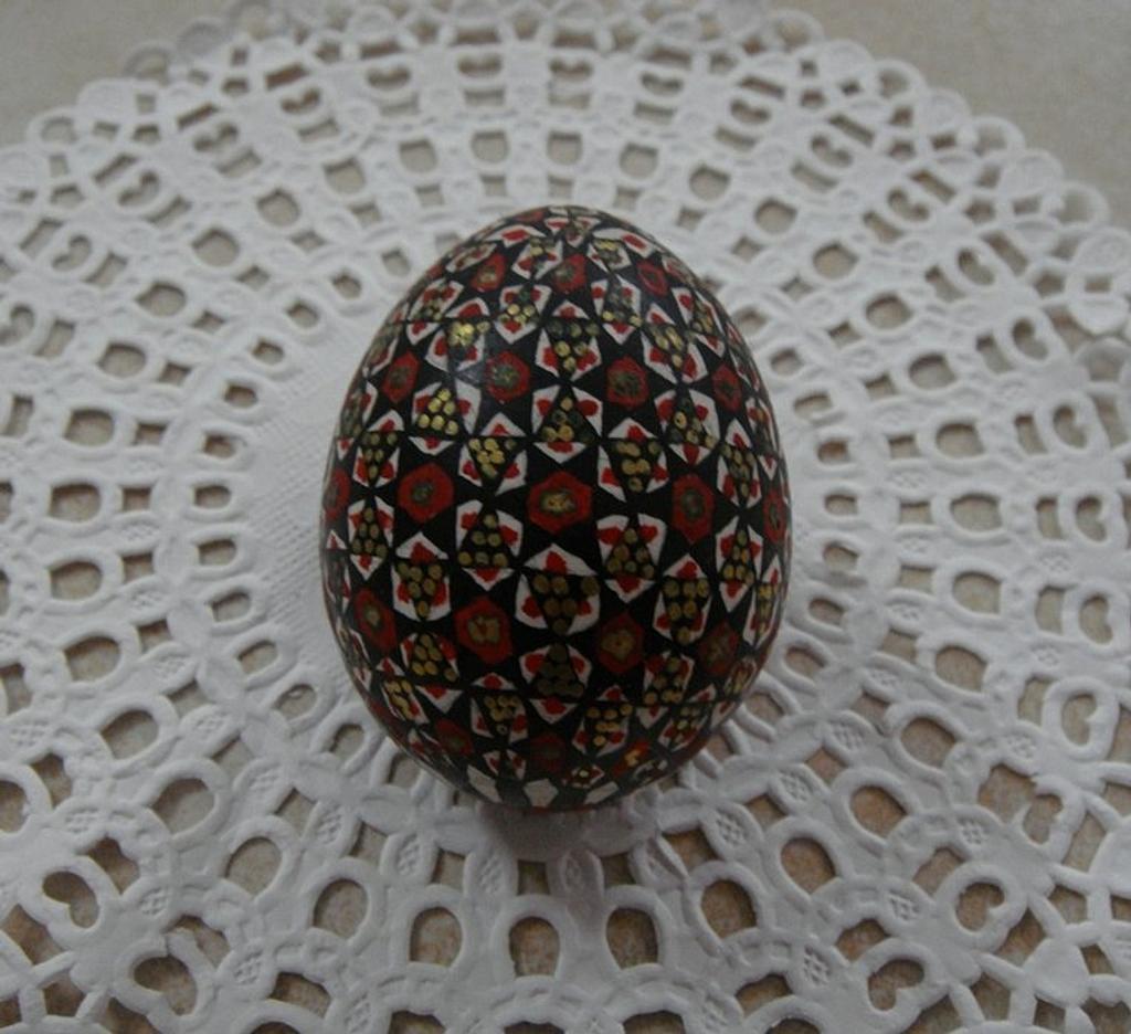 Fondant egg by Zohreh