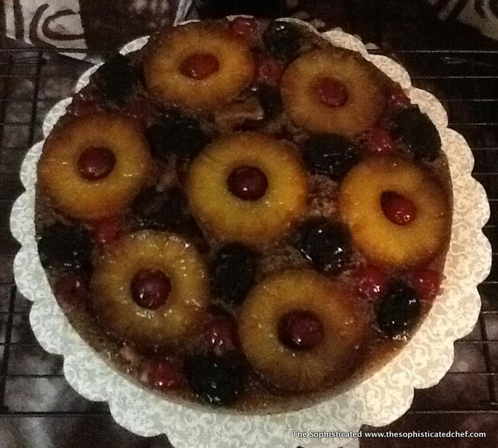 Pineapple upside-down by Sophisticated