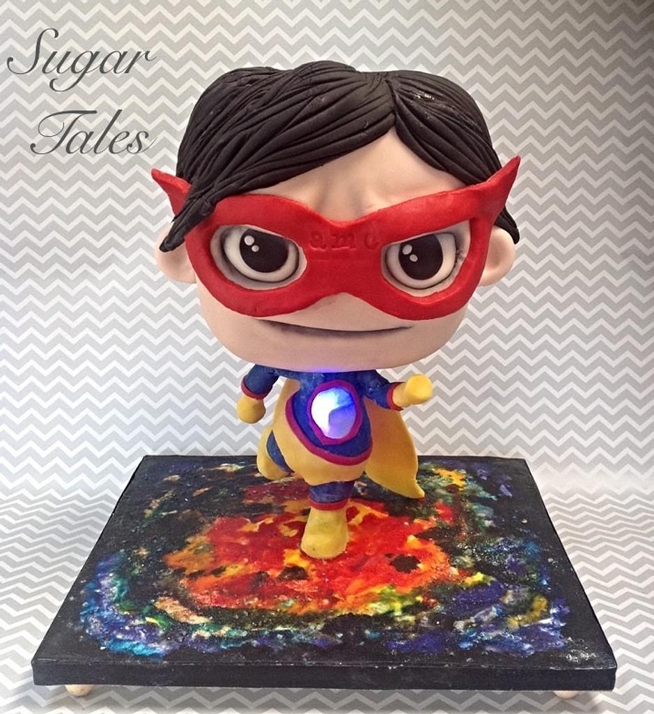Superhero Chibi by Sugar Tales