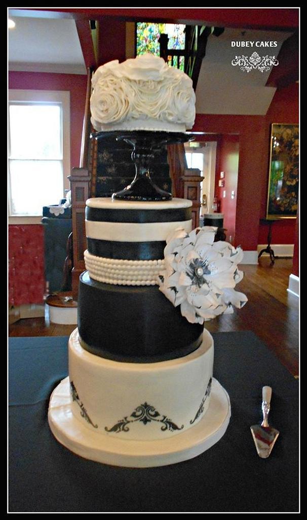 Thompson Wedding Cake by Bethann Dubey