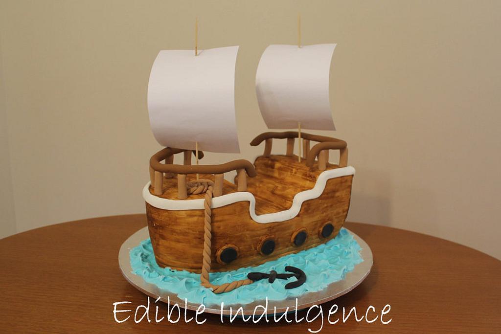 Pirate Ship by Edible Indulgence