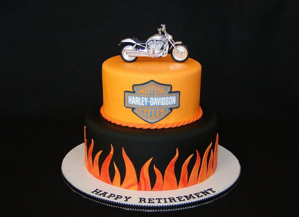 Harley Retirement by Elisa Colon