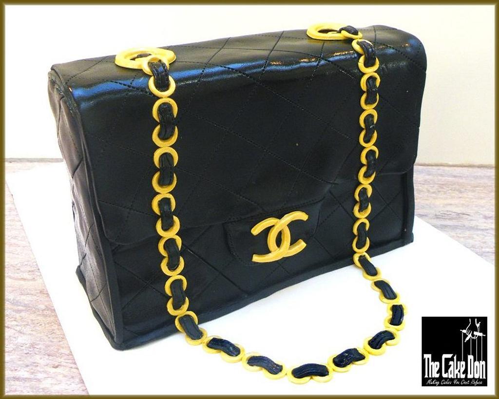 THE CHANEL  HANDBAG CAKE by TheCakeDon