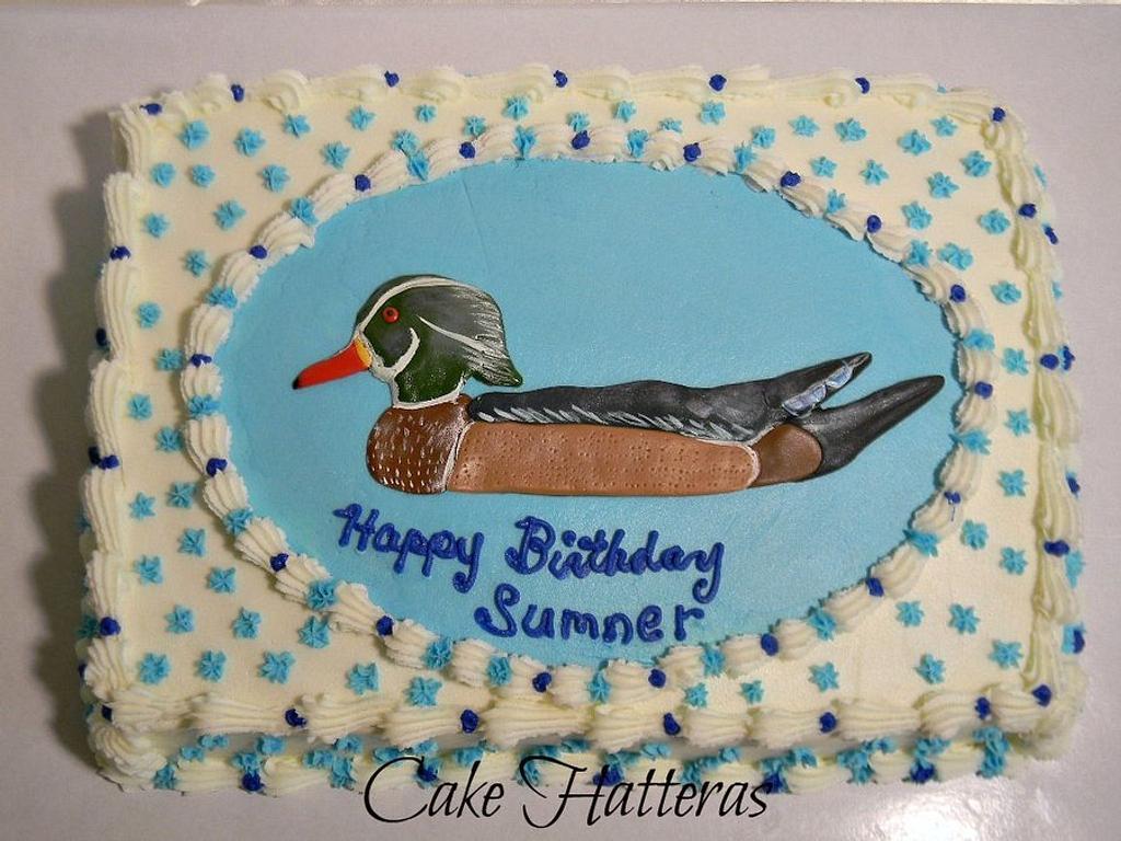 Wood Duck by Donna Tokazowski- Cake Hatteras, Hatteras N.C.