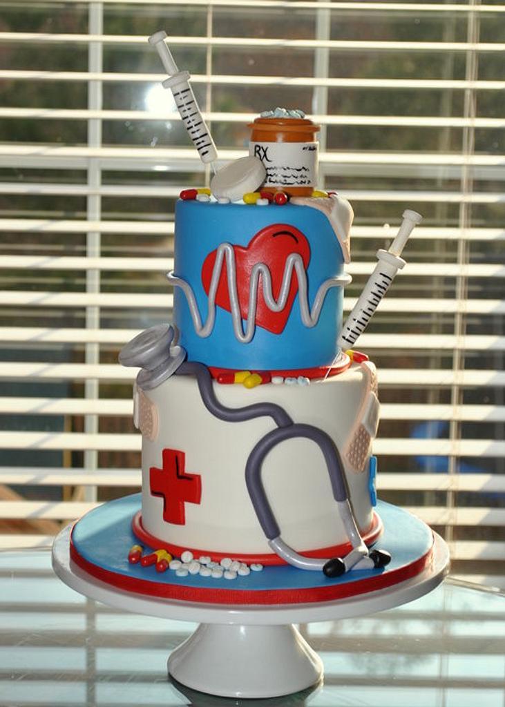 Nursing Cake by Hope Crocker