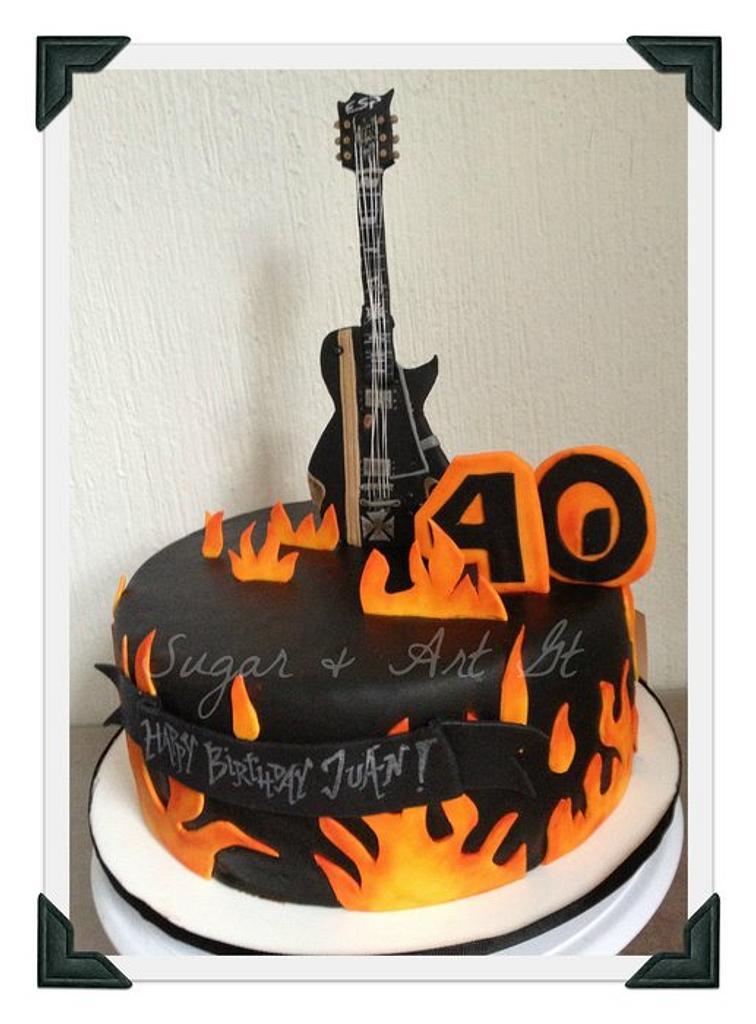 Rock N' Roll Cake by Paulina
