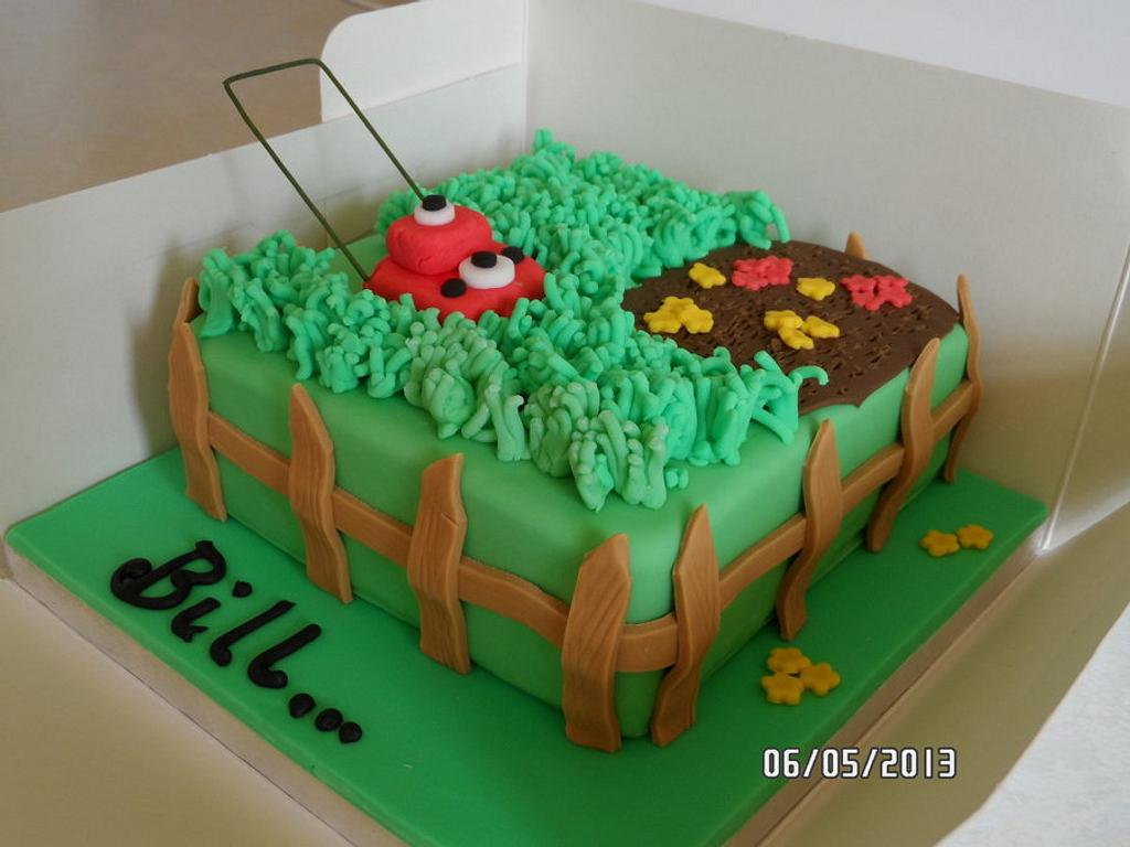Garden cake by Kerry