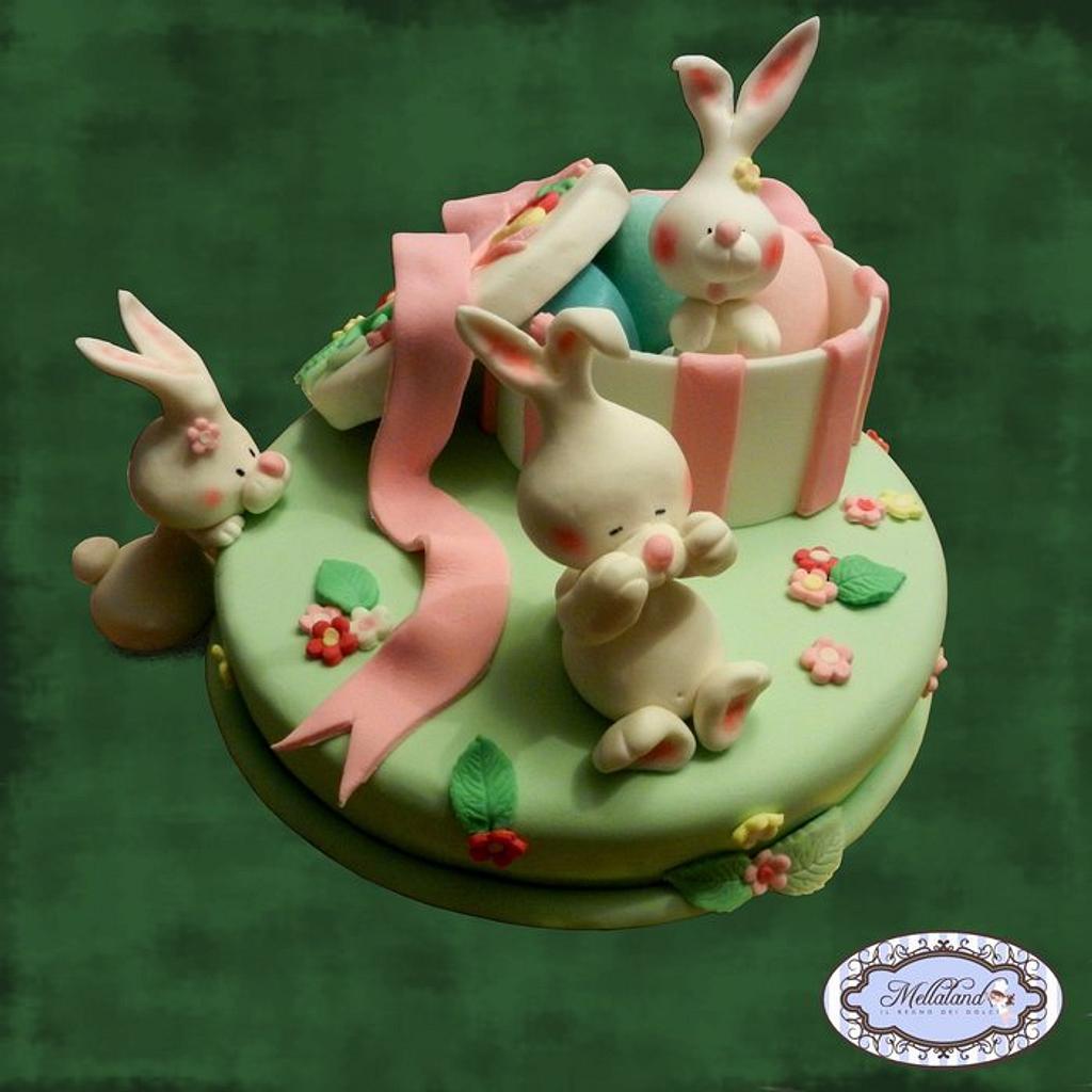 """Hide and seek"" cake  (Torta ""Nascondino"") by Mellaland"