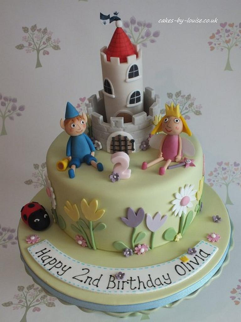 Ben and Holly's Little Kingdom by Louise Jackson Cake Design