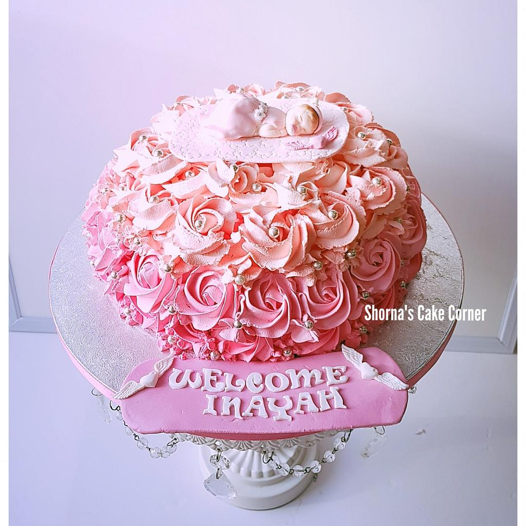 Pink beauty  by Shorna's Cake Corner