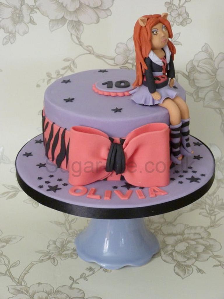 Monster High Clawdeen cake by Sugar-pie