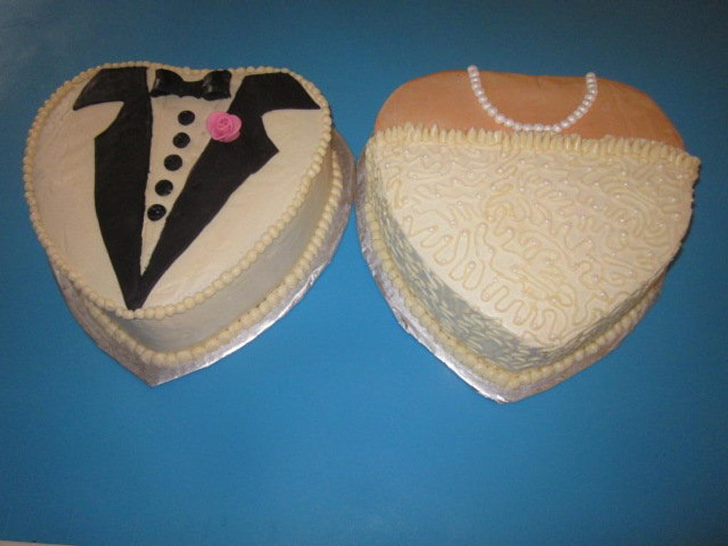 Wedding Shower Cake by Paulina
