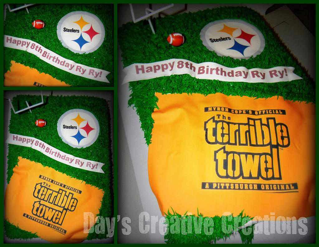 Terrible Towel by Day